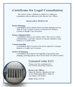 Free Legal Consultation Trust and Estate Planning